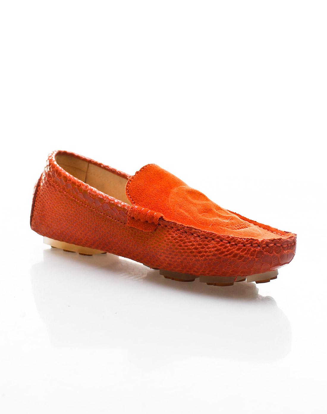 / 橘色豆豆鞋