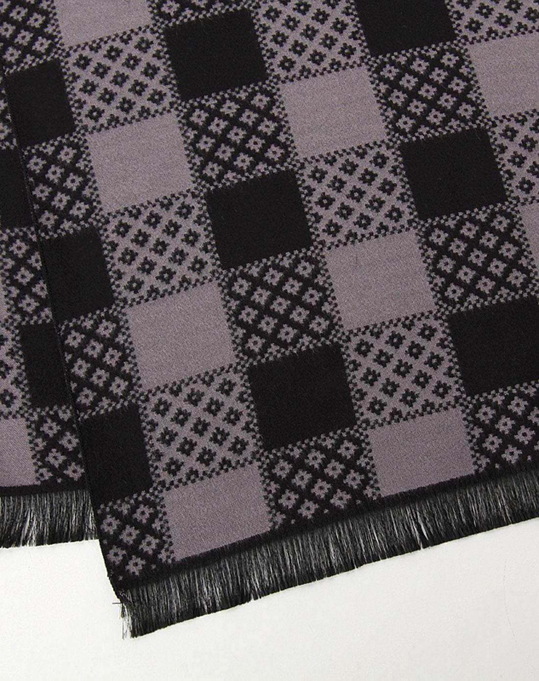 仿羊毛围巾(烟灰色)
