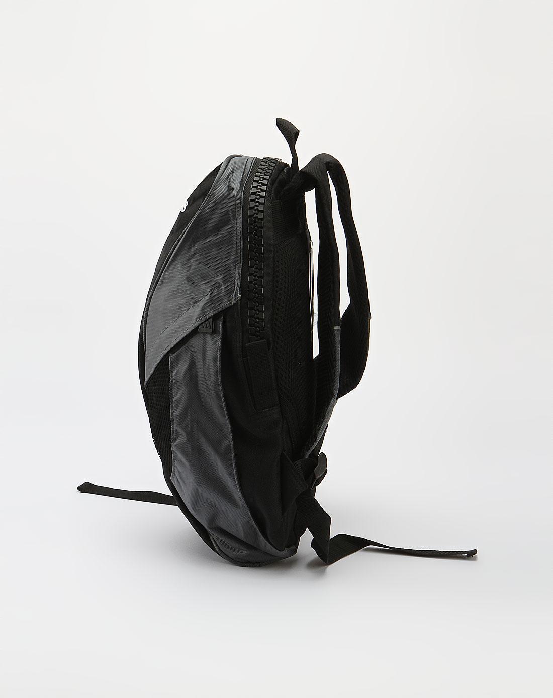 阿迪达斯adidas 中性黑/灰双肩背包
