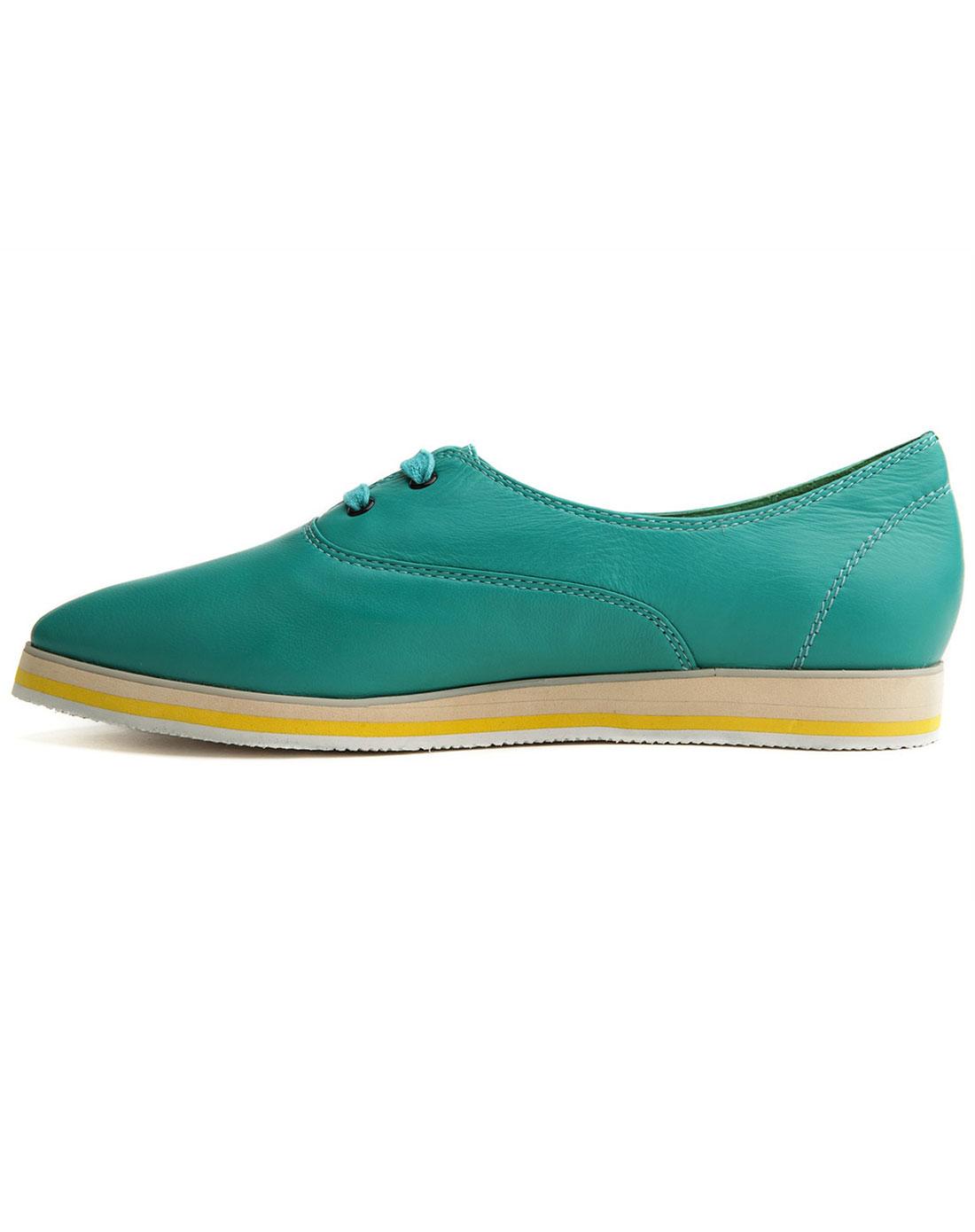 糕厚底系带女单鞋