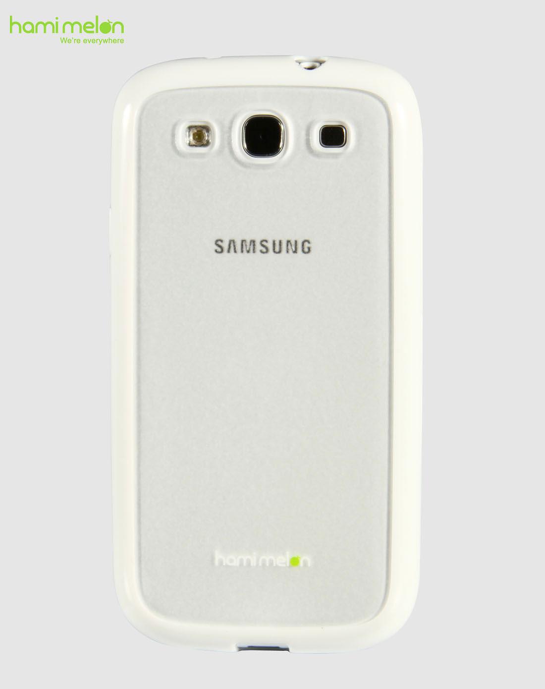 三星s3 i9300 白色边框手机保护壳