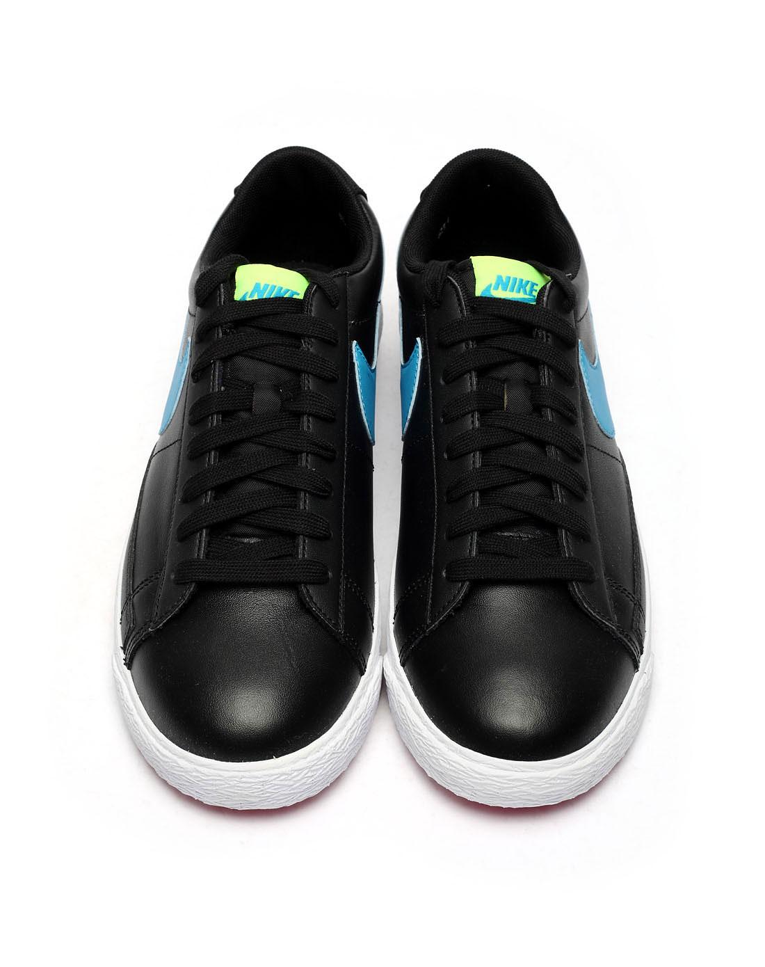 耐克nike 男子运动休闲系列黑色复古鞋