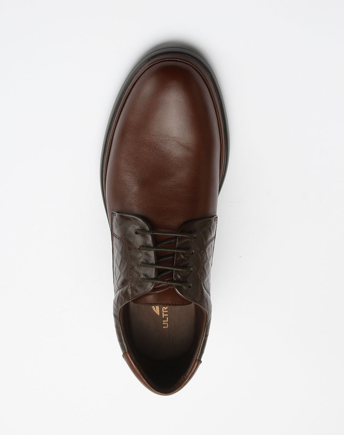 咖色系带酷帅大气皮鞋