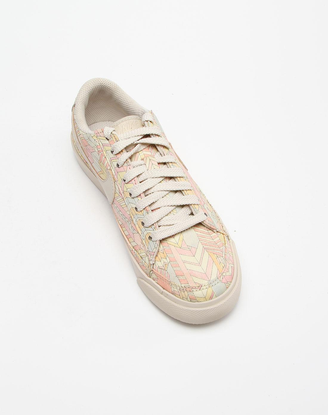 耐克nike-女款彩色绑带运动文化鞋454471-200
