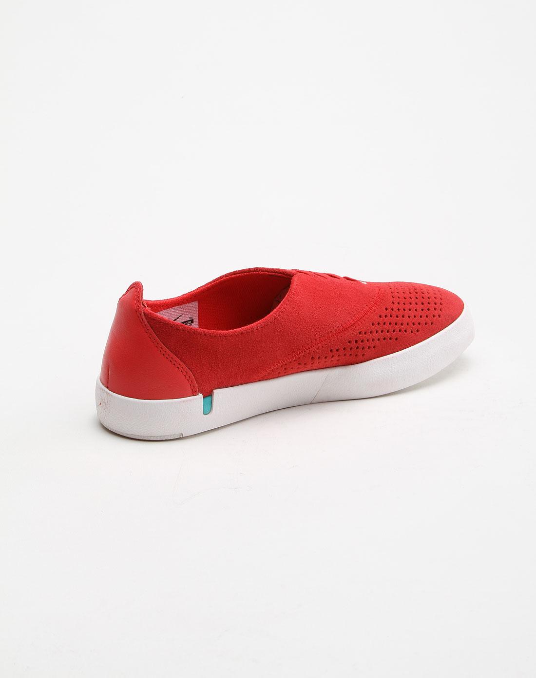 耐克nike-女款冲孔透气个性红色休闲鞋511311-600