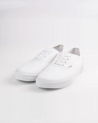 美国hoz时尚休闲鞋专场男款白色简约百搭低帮帆布鞋