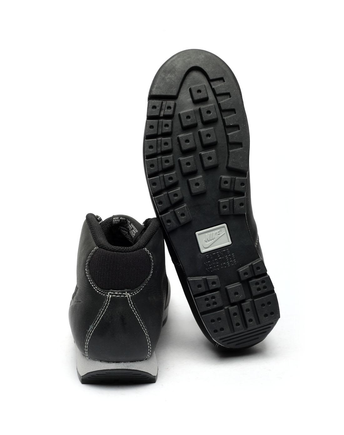 耐克nike-男子黑色复古鞋370921-005
