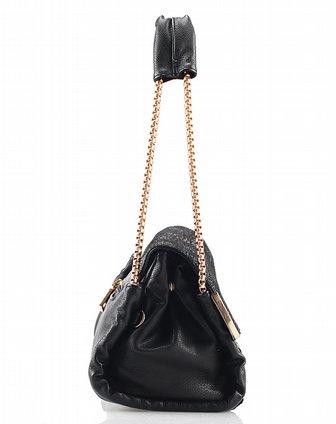 osa黑色pu皮女士包包sb330261000a