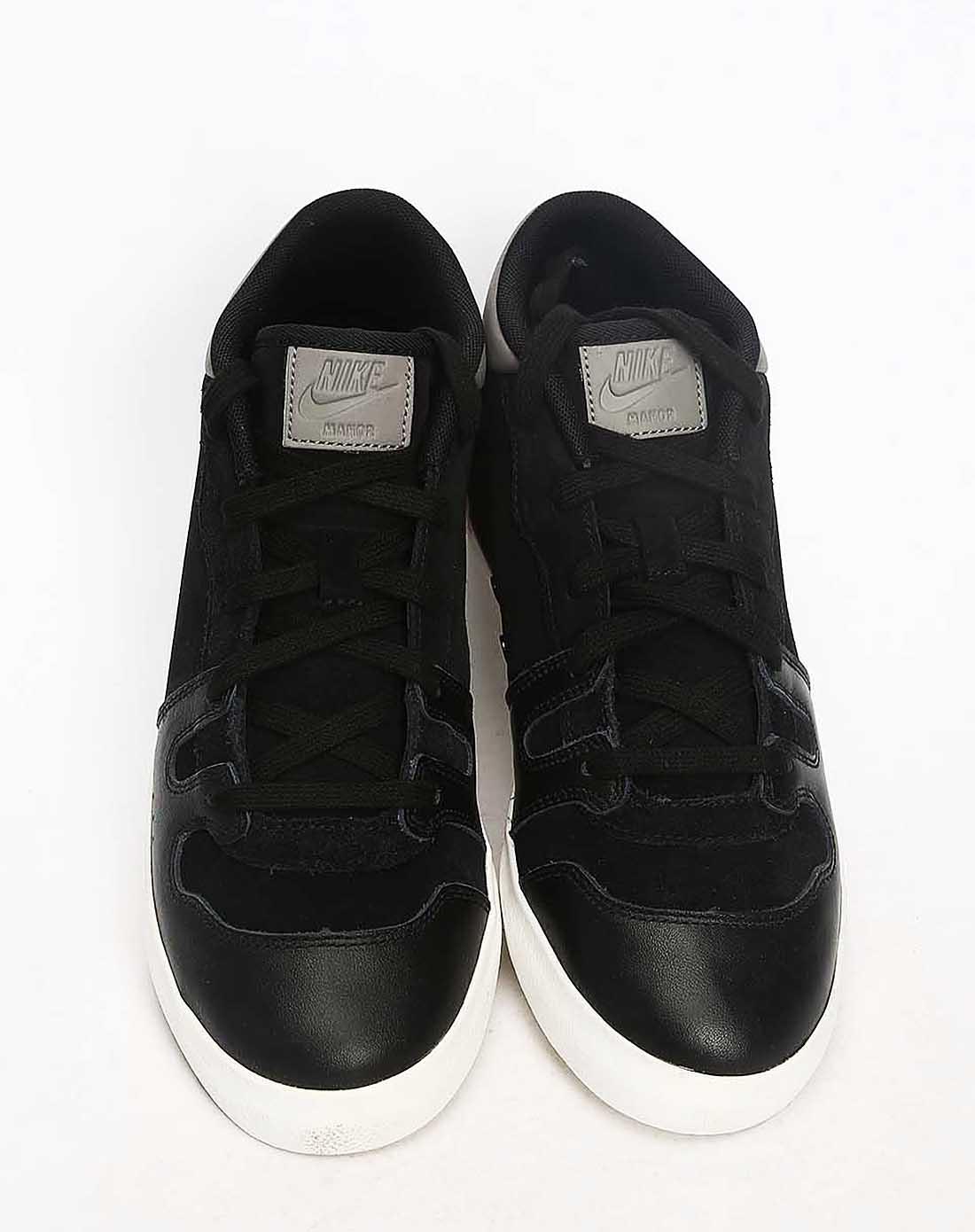 耐克男子黑色复古鞋
