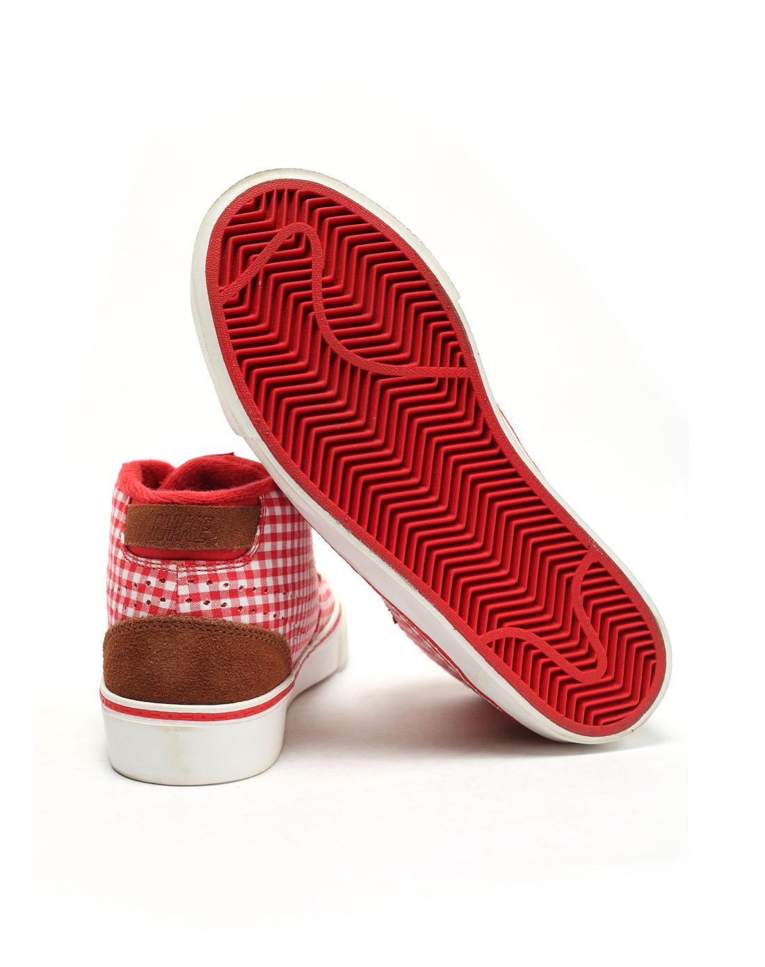 耐克nike-女子红色复古鞋454538-600