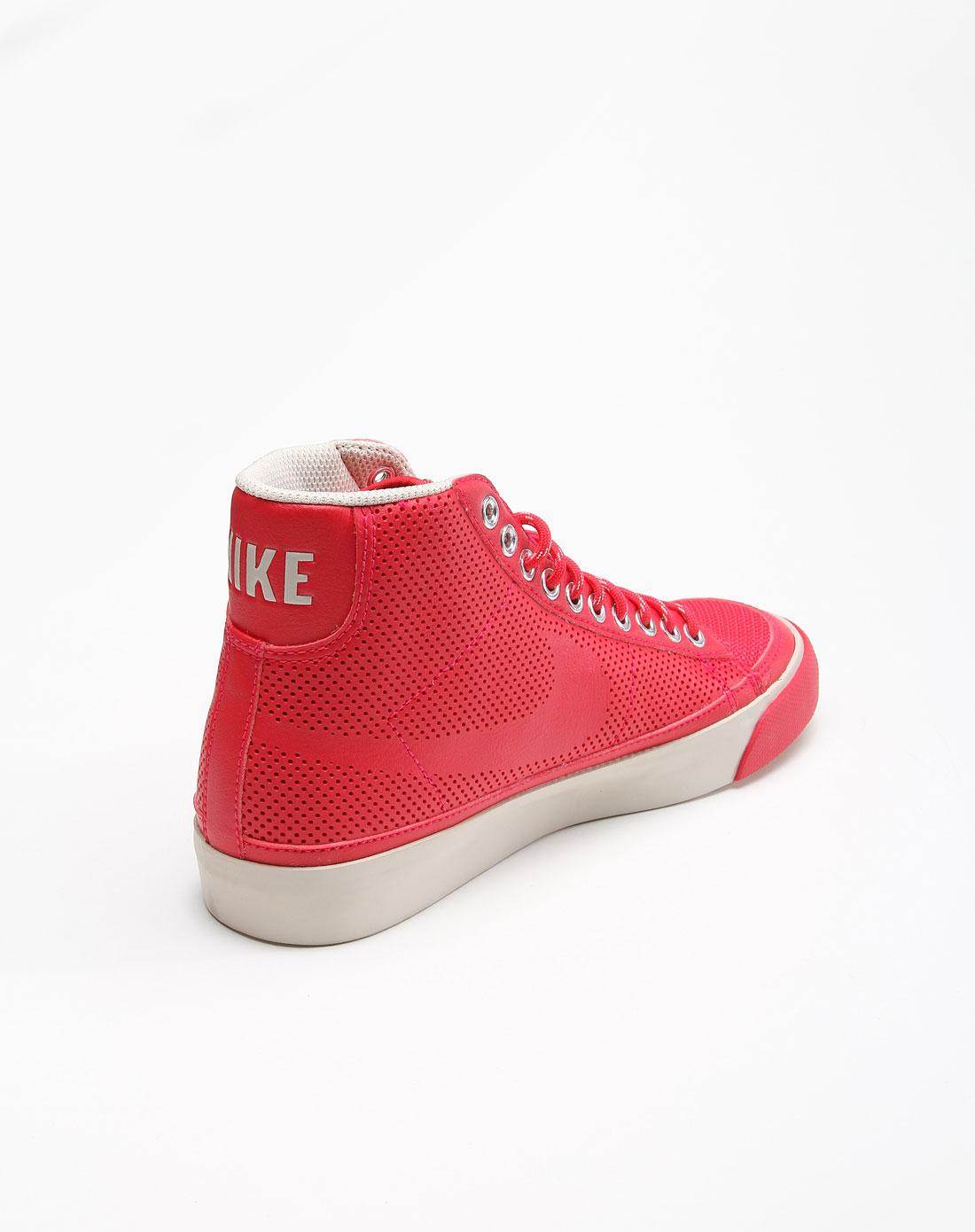 耐克nike男女鞋-经典专场女子红色blazer